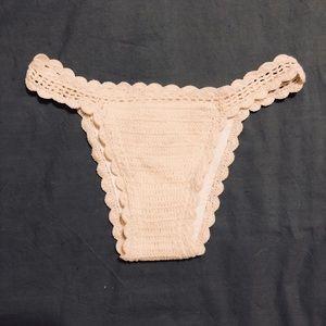 Vitamin A Crochet Bikini Bottoms